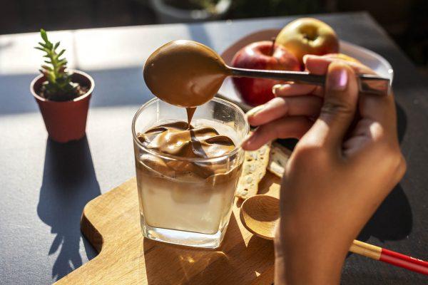 Cà phê bọt biển hồng sâm